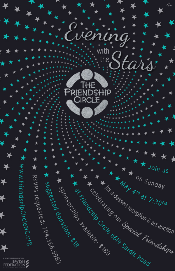 Evening with the Stars Invitation